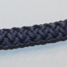 vr0095 apie 5 mm, melsvai pilka spalva, virvė, rankinėms nerti, apie 200 m. x 2  /  2 vnt