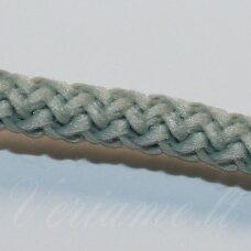 vr0101 apie 5 mm, žalsva spalva, virvė, rankinėms nerti, apie 200 m. x 2  /  2 vnt