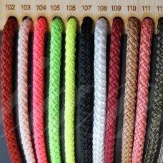 vr0106 apie 5 mm, neoninė spalva, virvė, rankinėms nerti, 200 m. x 2  /  2 vnt