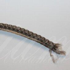 vr0113 apie 5 mm, ruda spalva, virvė, rankinėms nerti, apie 200 m. x 2  /  2 vnt
