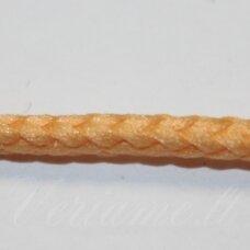 vr0115 apie 3 mm, kreminė spalva, virvė, rankinėms nerti, apie 200 m. x 2  /  2 vnt