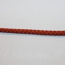 vr0117 apie 5 mm, oranžinė spalva, virvė, rankinėms nerti, apie 200 m. x 2  /  2 vnt