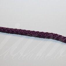vr0118 apie 5 mm, violetinė spalva, virvė, rankinėms nerti, apie 200 m. x 2  /  2 vnt