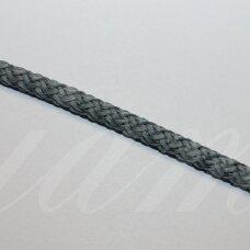 vr0133 apie 5 mm, melsvai pilka spalva, virvė, rankinėms nerti, 200 m.