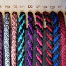 vr0126 apie 5 mm, bordo spalva, virvė, rankinėms nerti, 200 m.
