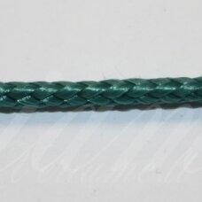 vr0136 apie 3 mm, žalia spalva, virvė, rankinėms nerti, 200 m.