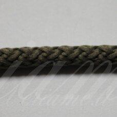 vr0137 apie 5 mm, tamsi, samaninė spalva, virvė, rankinėms nerti, apie 200 m.