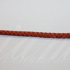 vr0140 apie 5 mm, oranžinė spalva, virvė, rankinėms nerti, apie 200 m.