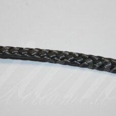 vr0200 apie 3 mm, tamsi, pilka spalva, virvė, rankinėms nerti, 200 m.