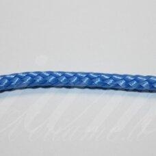 vr0206 apie 3 mm, mėlyna spalva, virvė, rankinėms nerti, 200 m.