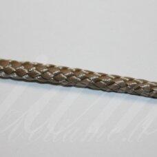 vr0208 apie 3 mm, šviesi, ruda spalva, virvė, rankinėms nerti, 200 m.