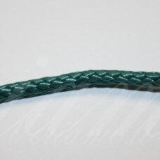 vr0211 apie 3 mm, elektrinė spalva, virvė, rankinėms nerti, 200 m.