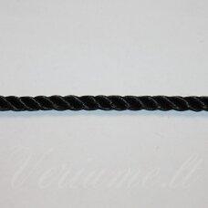 vrsuk0032 apie 5mm, juoda spalva, sukta virvutė, apie 150 m.