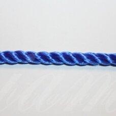 vrsuk0038 apie 5mm, mėlyna spalva, sukta virvutė, apie 150 m.