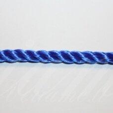 VRSUK0038 apie 5mm, mėlyna spalva, sukta virvutė, 1 m.