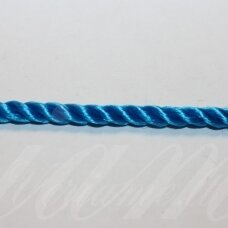 vrsuk0039 about 5mm, blue color, twisted rope, about 150 m.