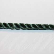 vrsuk0042 about 5mm, green color, twisted rope, about 150 m.