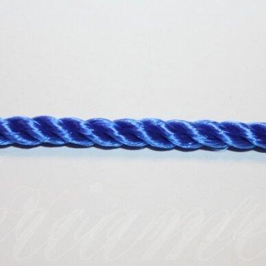 vrsuk0038 apie 5 mm, mėlyna spalva, sukta virvutė, apie 150 m.