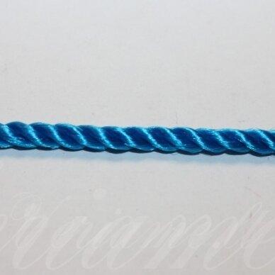 vrsuk0039 apie 5mm, mėlyna spalva, sukta virvutė, apie 150 m.