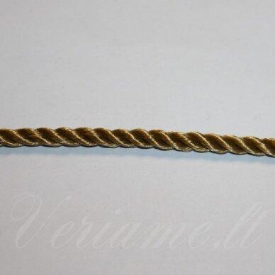 vrsuk0040 apie 5 mm, tamsi, geltona spalva, sukta virvutė, apie 150m.