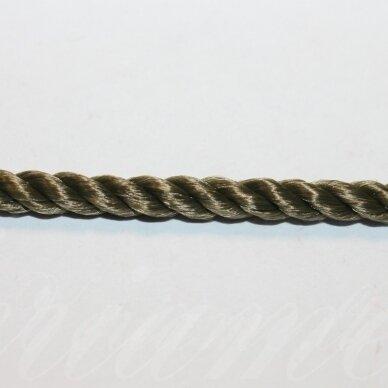 vrsuk0041 apie 5mm, žalsva spalva, sukta virvutė, apie 150 m.