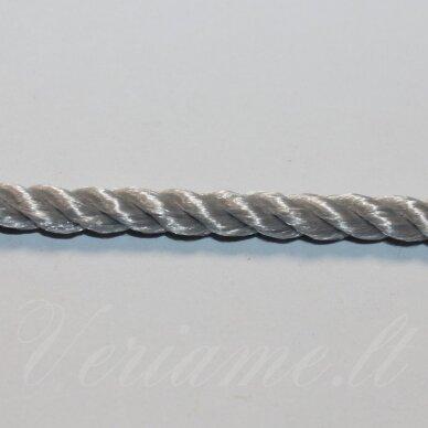 vrsuk0043 apie 5mm, pilka spalva, sukta virvutė, apie 150 m.