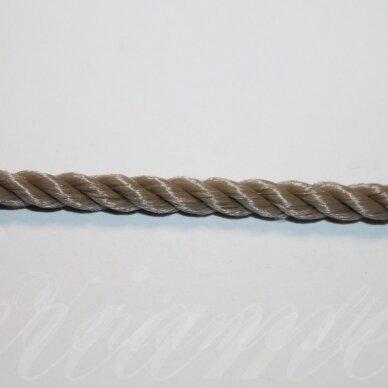 vrsuk0046 apie 5mm, šviesi, ruda spalva, sukta virvutė, apie 150 m.