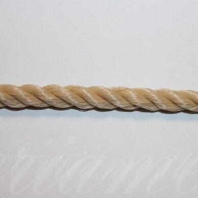 vrsuk0047 apie 5 mm, gelsva spalva, sukta virvutė, apie 150 m.