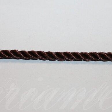 vrsuk0048 apie 5mm, ruda spalva, sukta virvutė, apie 150 m.