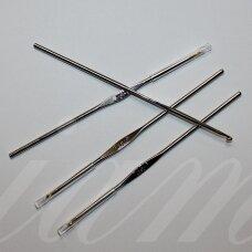 vs0003 0.75 mm, metalinis vąšelis, 12 cm, 1 vnt.